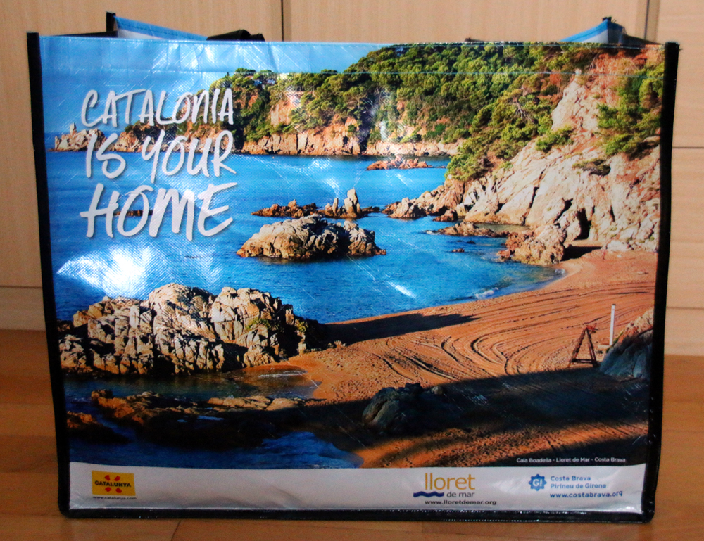 Giveaway Bag TBEX Europe 2015 Lloret de Mar Costa Brava Spain