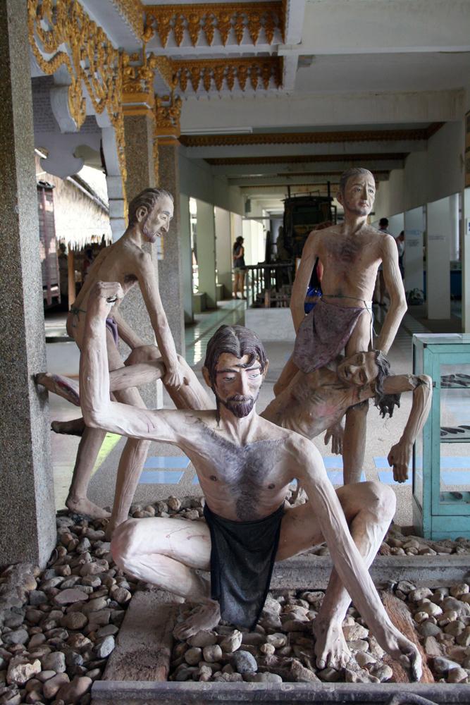 JEATH-Kriegsmuseum Kanchanaburi Thailand Asien
