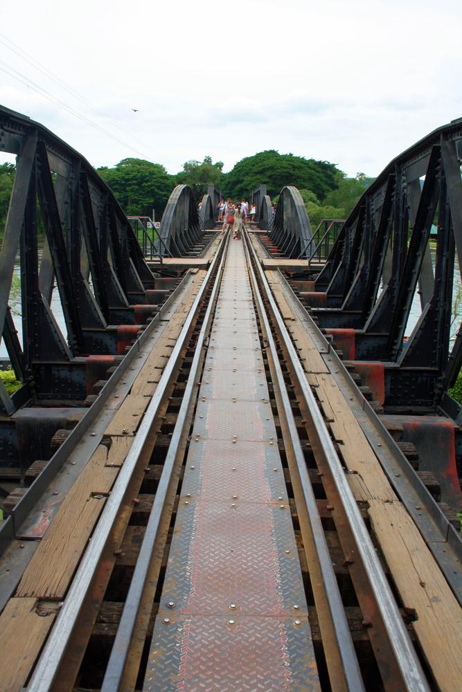 Brücke am Kwai Kanachanburi Thailand Asien