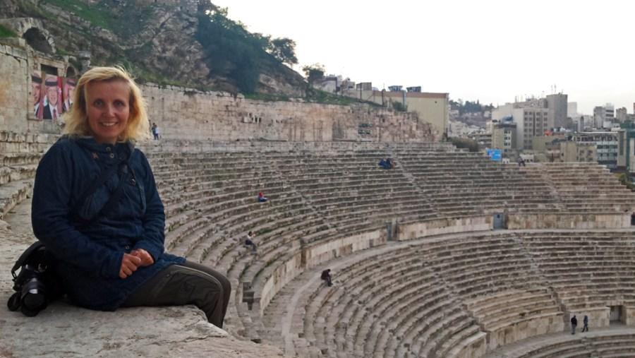 Roman theatre Amman Jordan Middle East