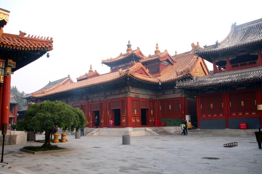 Lama Temple Yonghe Gong Beijing China