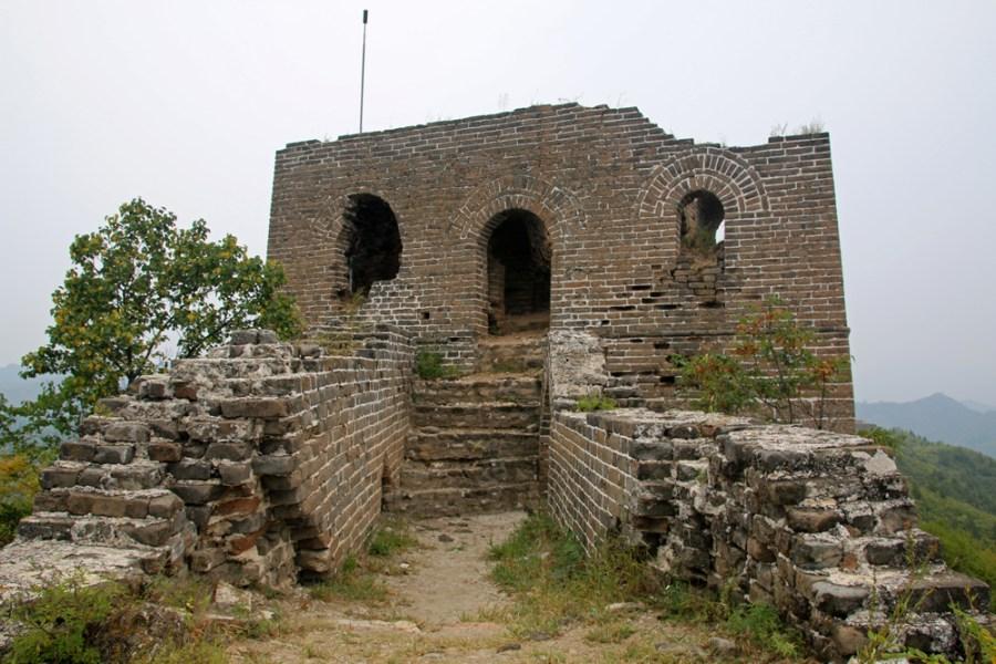 Watchtower Gubeikou Great Wall Miyun Hebei Beijing China Asia