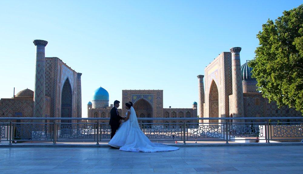 Jewels of Samarkand - the Registan