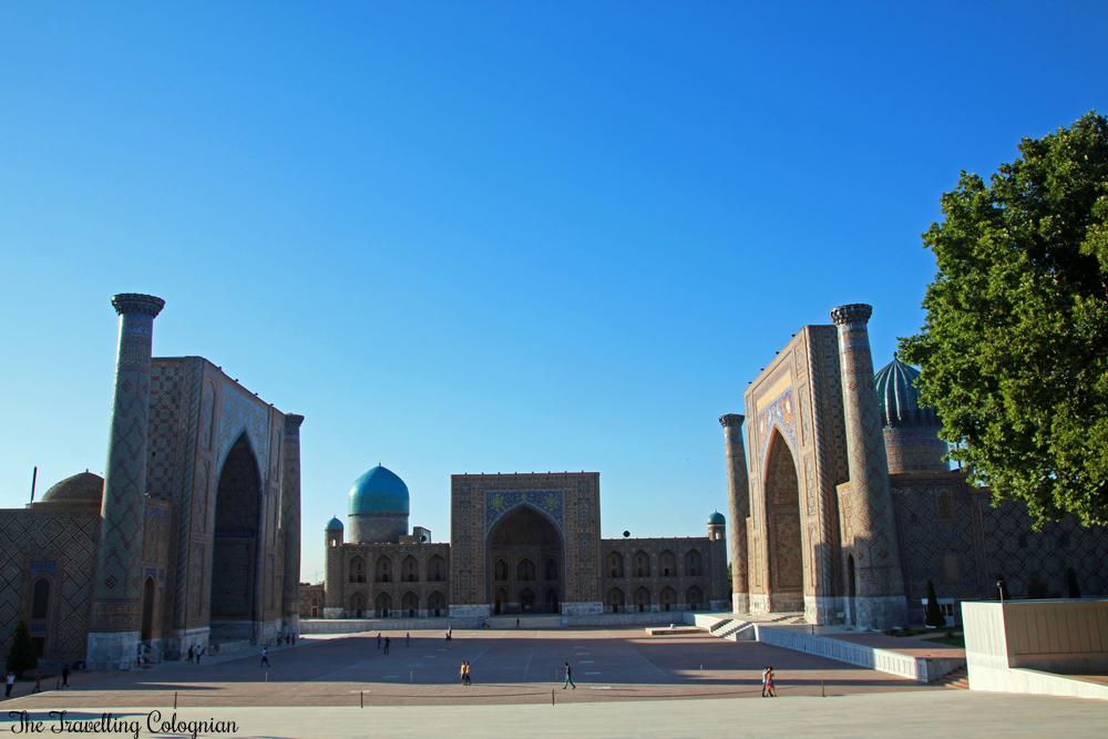 Registan Samarkand Usbekistan Zentralasien ASIEN