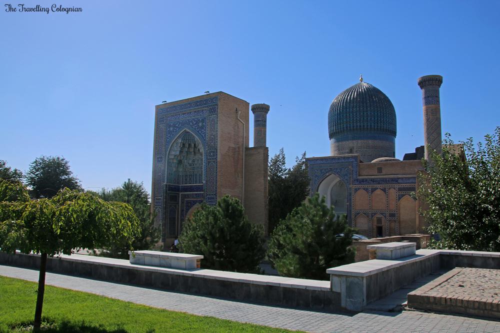 Die Juwelen von Samarkand - das Gur-E-Amir Mausoleum bei Tag