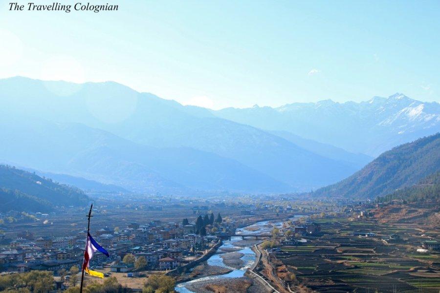 Bhutan with G Adventures Paro Valley Paro Bhutan Himalayas ASIA