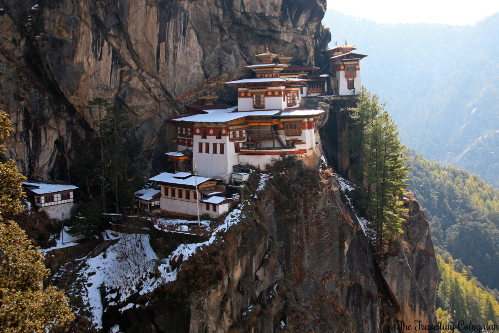 Travel blogger review 2017 Bhutan with G Adventures Tiger's Nest Paro Bhutan Himalayas ASIA