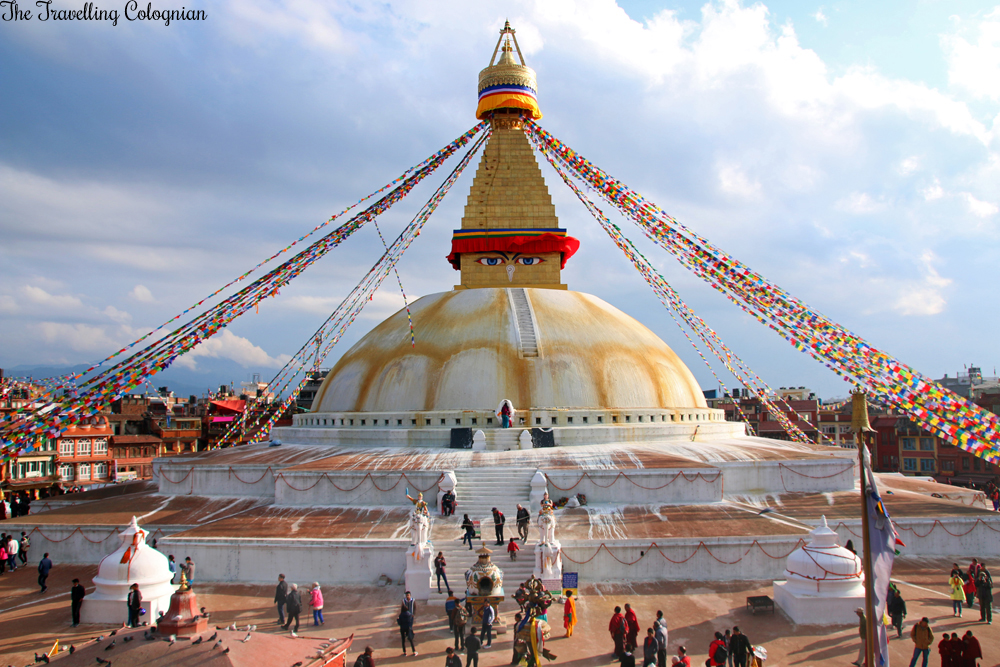 Travel Blogger Review 2017 A year like no other Boudhanath Kathmandu Nepal South Asia ASIEN