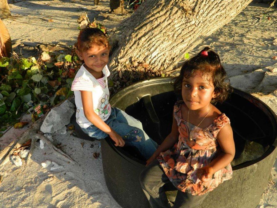 Einheimische Malediven Südasien ASIEN