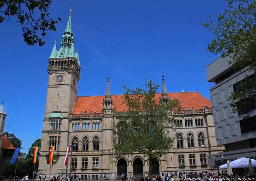 Braunschweiger Rathaus Braunschweig Niedersachsen Deutschland