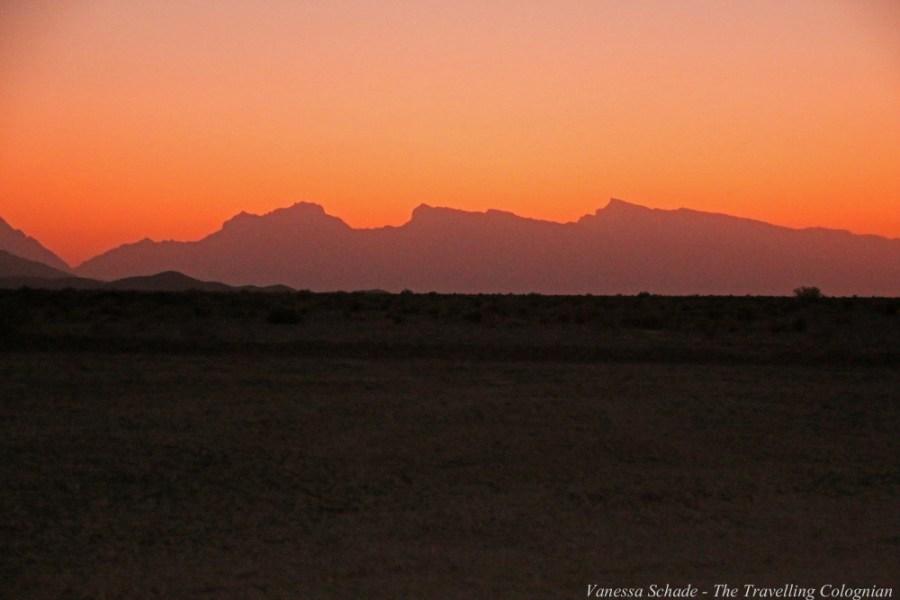 Karawanserei Zein-o-Din Sonnenuntergang Iran NAHER OSTEN