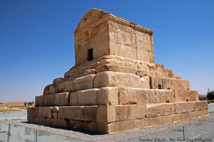 Grabmahl Kyros II Pasargadae Iran NAHER OSTEN