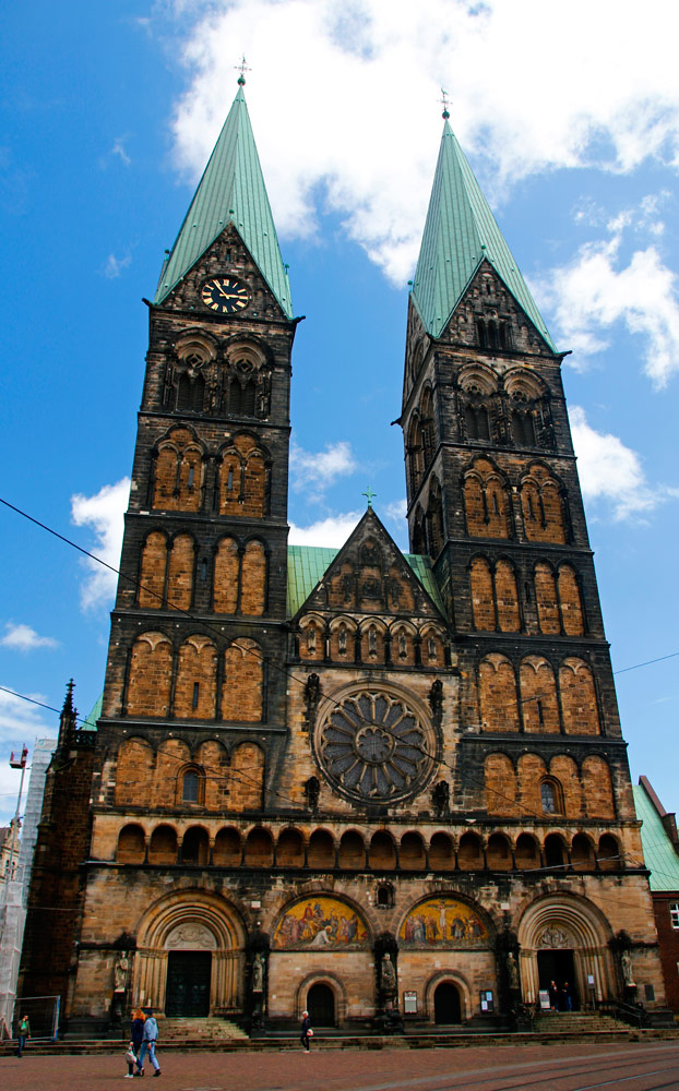 Der St. Petri Dom gehört zu den wichtigsten Sehenswürdigkeiten in Bremen