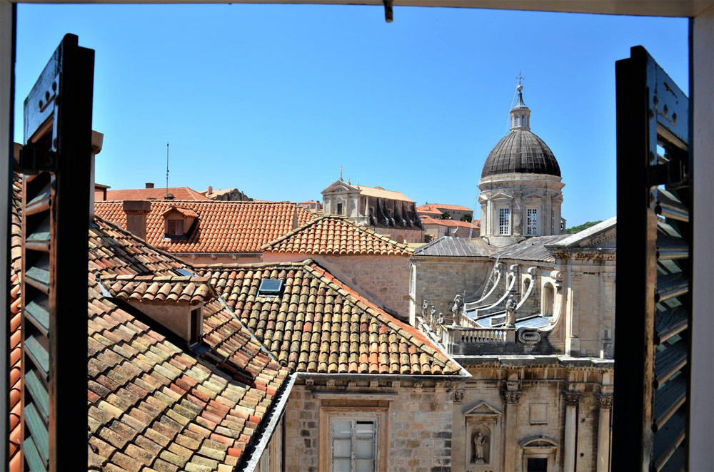 The historic old town of Dubrovnik is part of the UNESCO World Heritage