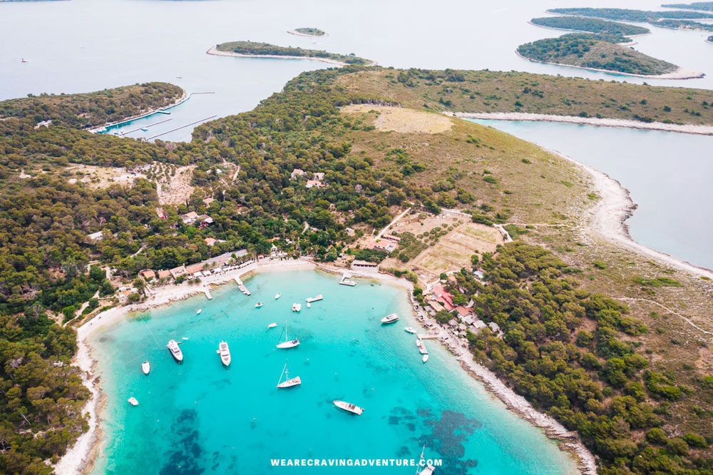 The Pakleni Islands offer several small bays