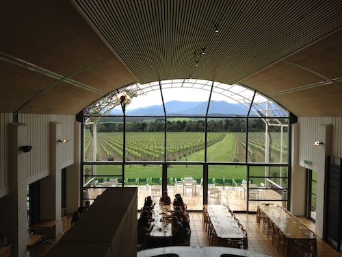 Chandon Yarra Valley View