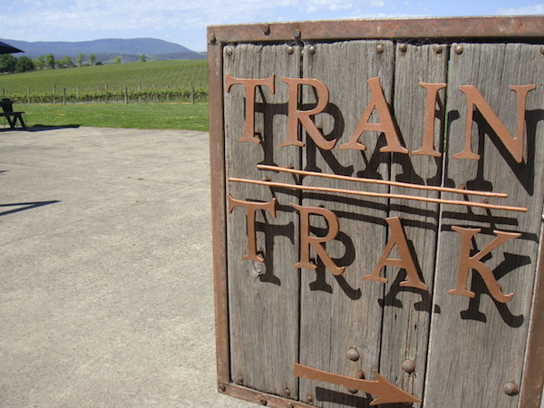 Train Trak Winery Yarra Valley