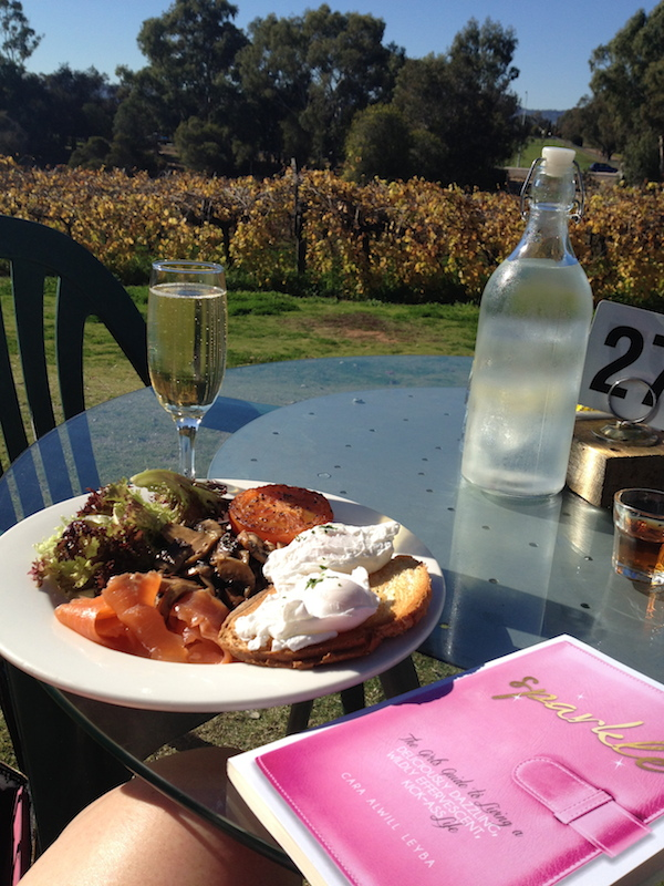 Sparkling Wine Breakfast at Edgecombe Brothers Winery