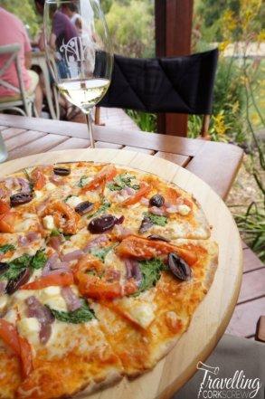 Arimia Wines Margaret River pizza