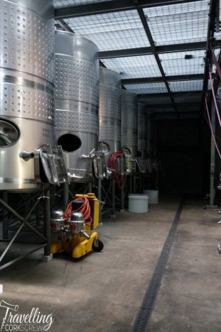 Fraser Gallop Estate Margaret River winery tanks