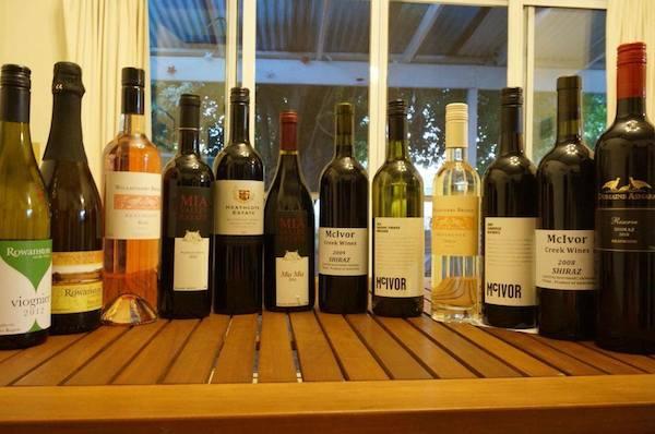 Heathcote wine dozen assortment