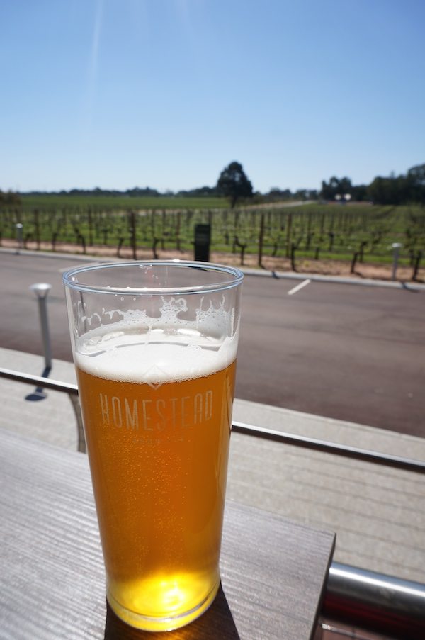 Homestead Brewery No 1 Pale Ale