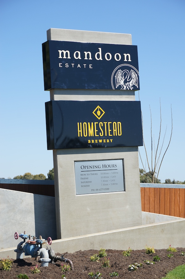 Mandoon Estate & Homestead Brewery Swan Valley