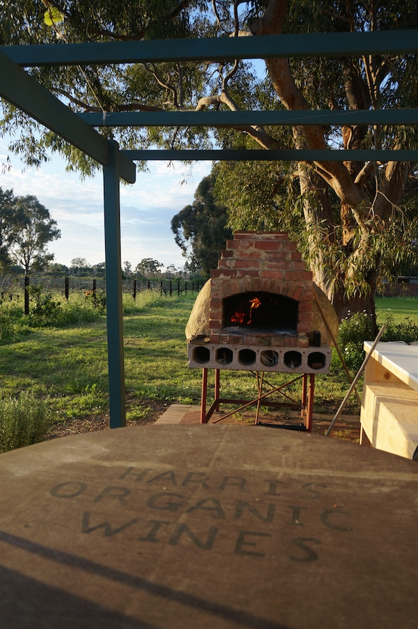 Harris Organic Wines Pruning and Pizza Day