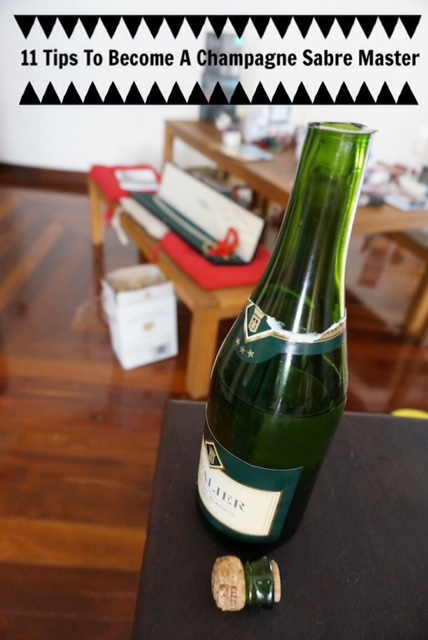 11 Tips to Become a Champagne Sabre Master - Travelling Corkscrew Wine Blog