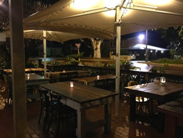 Outside Seating at Little Guildford