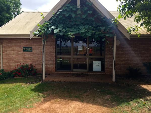 Mann Winery Cellar Door in the Swan Valley