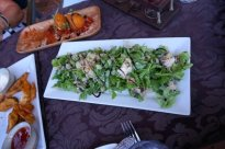 Blue Cheese & Apple Salad at Core Cider House with Explore Tours Perth