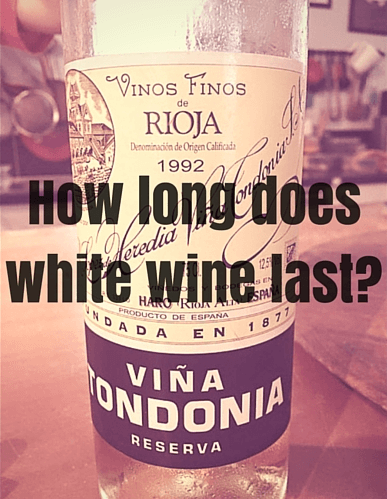 How Long Does White Wine Last White Wine Cellar Storage Tips