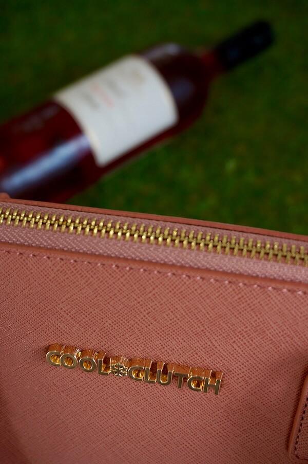 Cool Clutch Wine Handbag