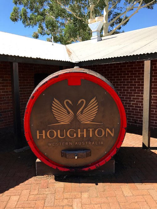 Houghton Winery Barrel in the Swan Valley