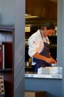 Colin Fassnidge in the kitchen - Long Lunch at Garrison Albany