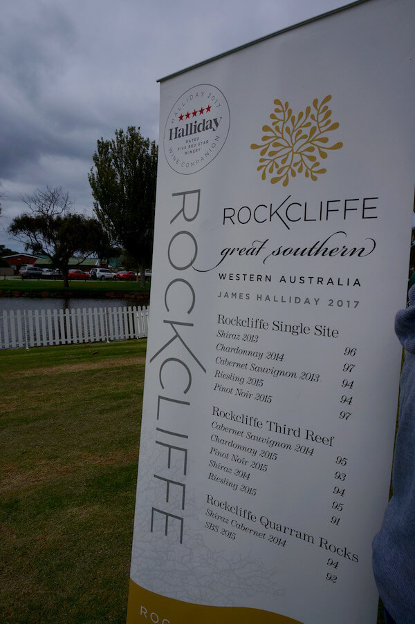 Rockcliffe Wines - Albany Wine & Food Festival