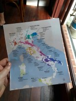 Canny Grapes Tasting Class - Italy Map