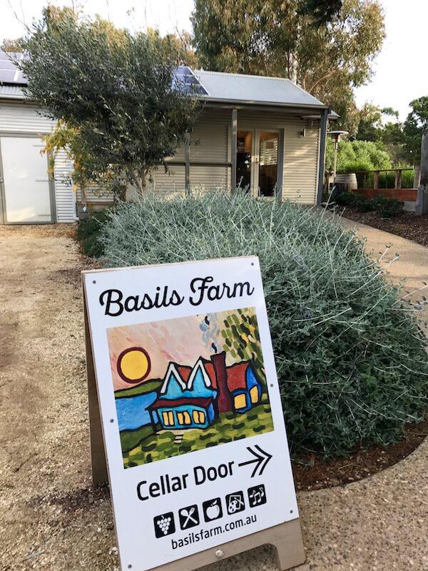 Basils Farm Cellar Door - Bellarine Wineries