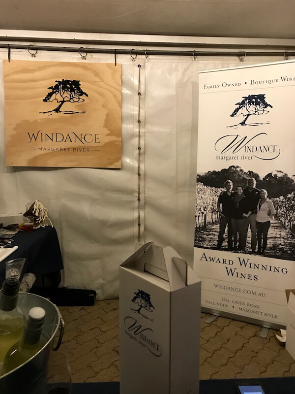 Windance stand at City Wine 2017
