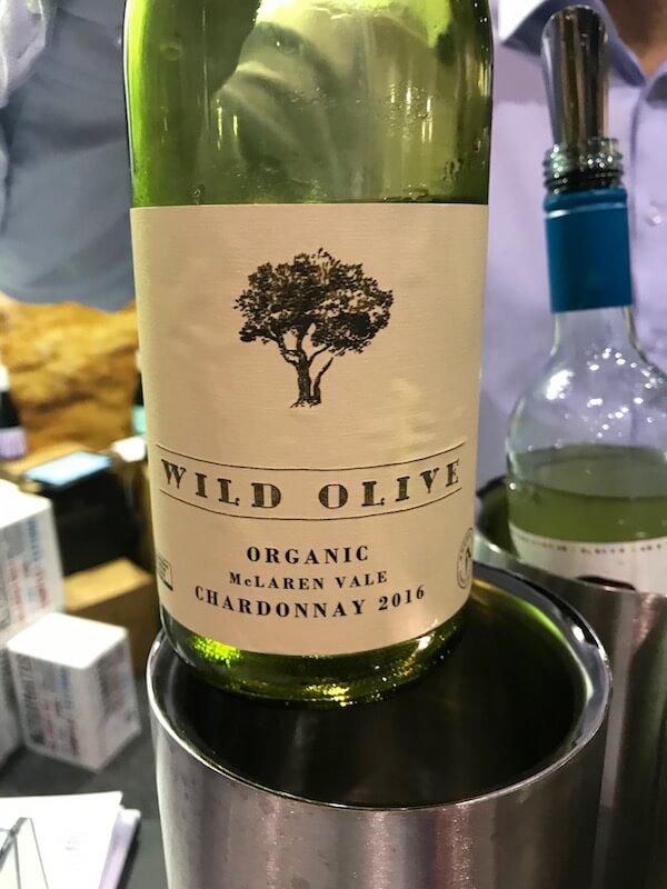 Angove Wild Olive Organic Chardonnay at Good Food & Wine Show Perth