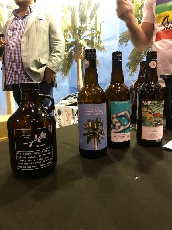 Big Head Radio Wine Range at Good Food & Wine Show Perth