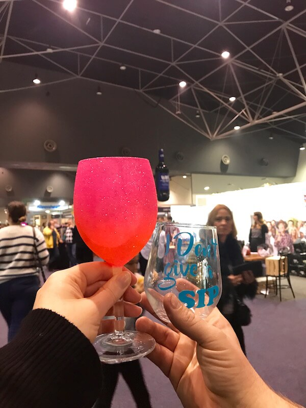 Glass that Glitters at Good Food & Wine Show Perth