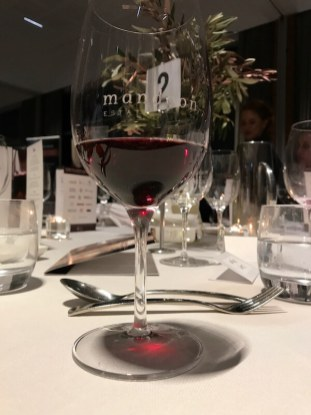 Singapore Airlines Swan Valley Wine Show 2017 Awards Dinner - Glass of Red Wine