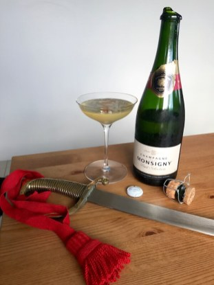 ALDI Wine - Champagne Monsigny and Sabre