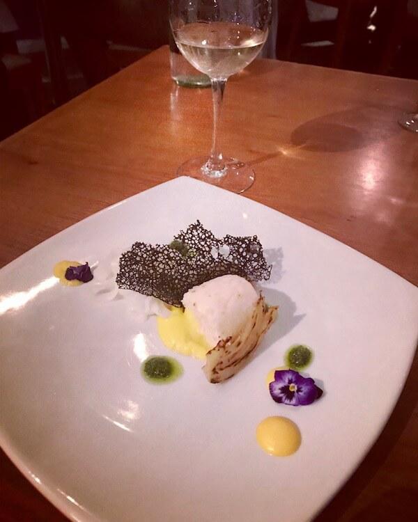 Mosmans Restaurant - Squid Linguini