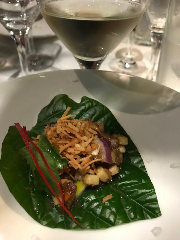 Betel Leaf Entree - Itsara Thai Restaurant Perth