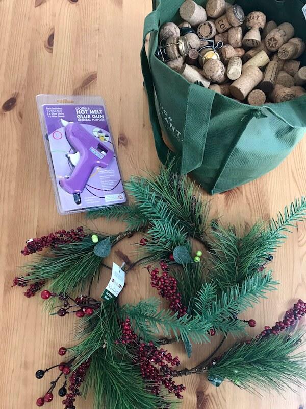 Making a Wine Cork Wreath - Spotlight Stores