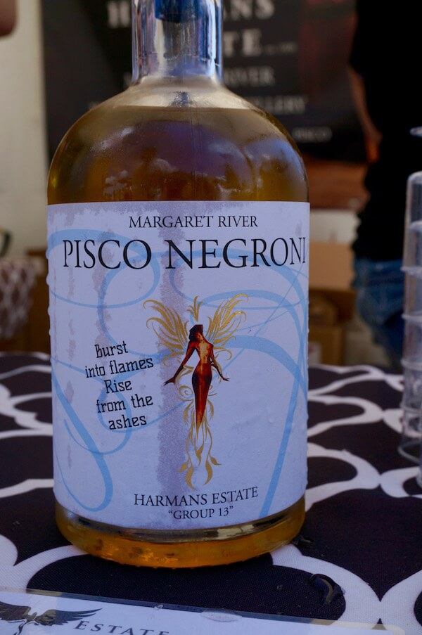 Harmans Estate - Pisco Negroni - Sunset Wine 2018