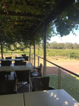 Breakfast at Upper Reach Winery - Riverbrook - Swan Valley